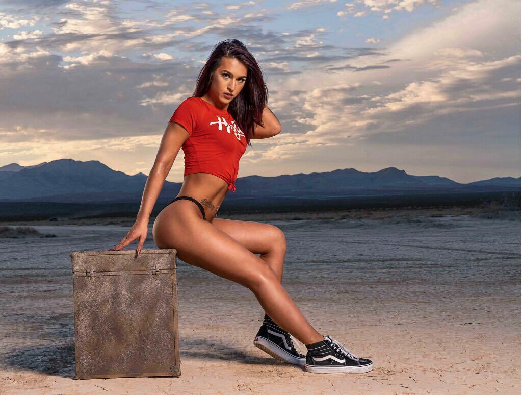 Trans Khloe Kay posing