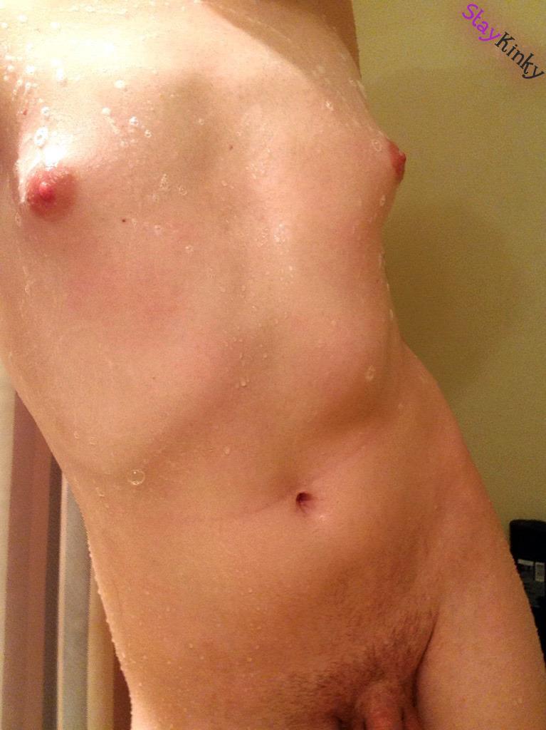 Sadie Hawkins shower selfie