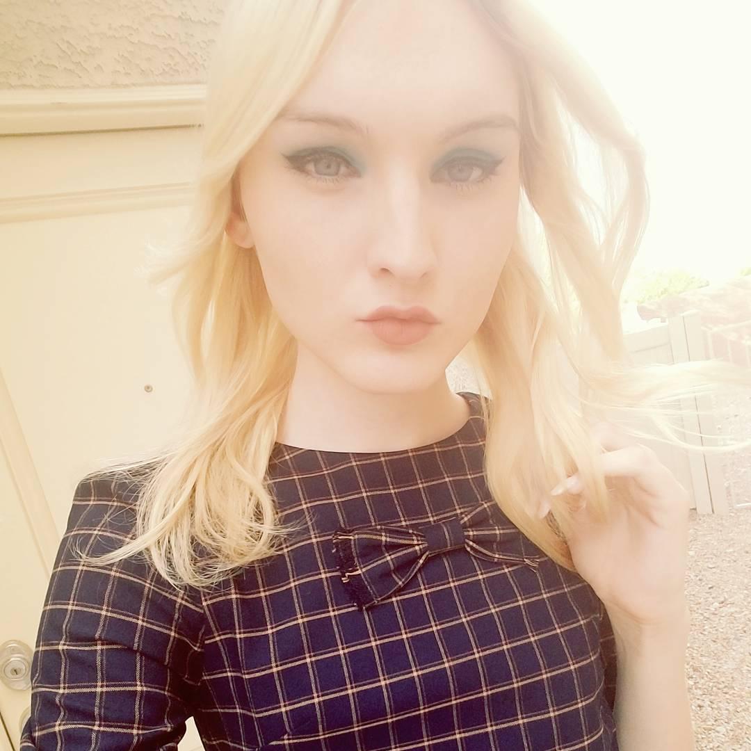 Classy Jenny transgender selfie