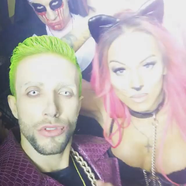 Mia Maffia ts Halloween selfie
