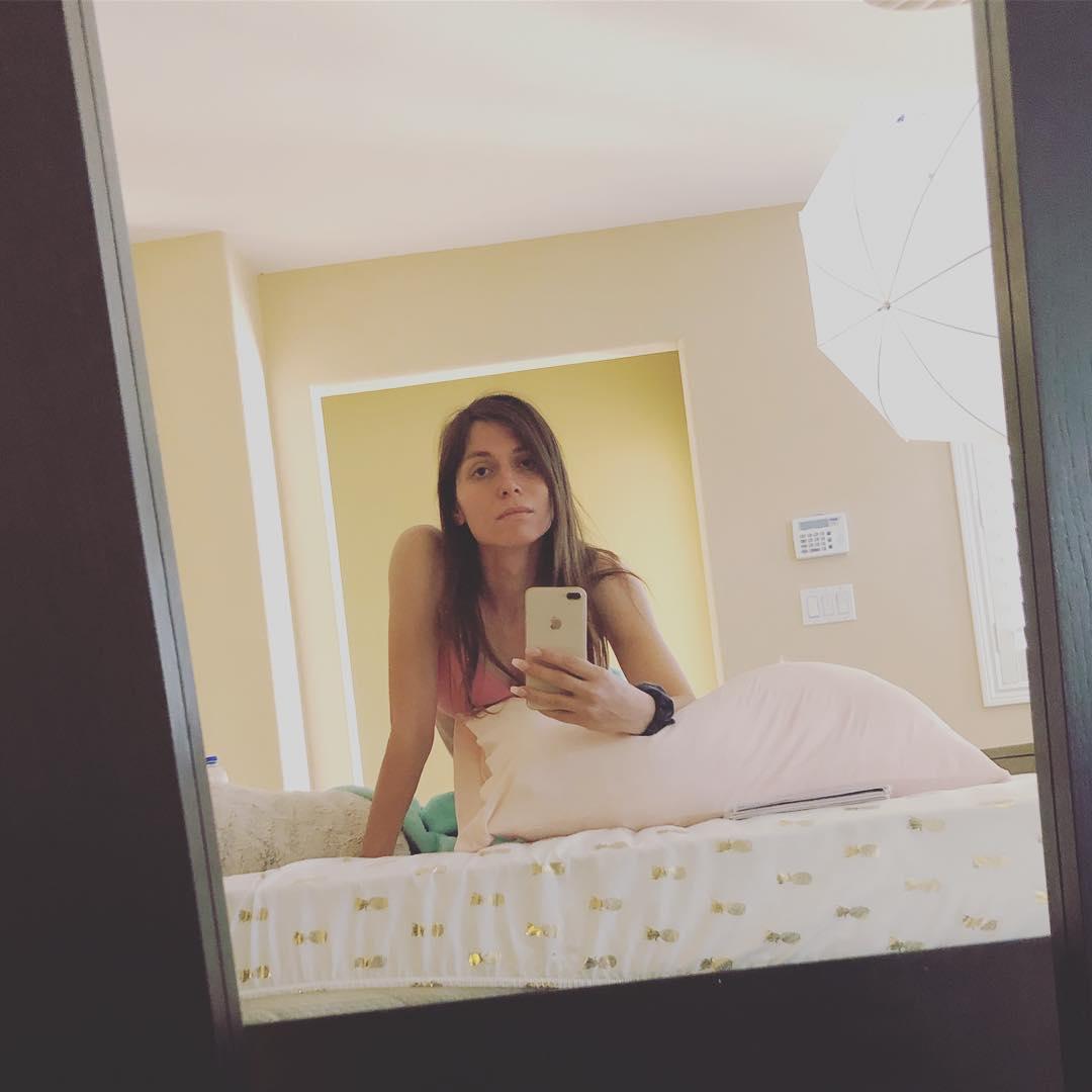 Trans Korra sleepy selfie
