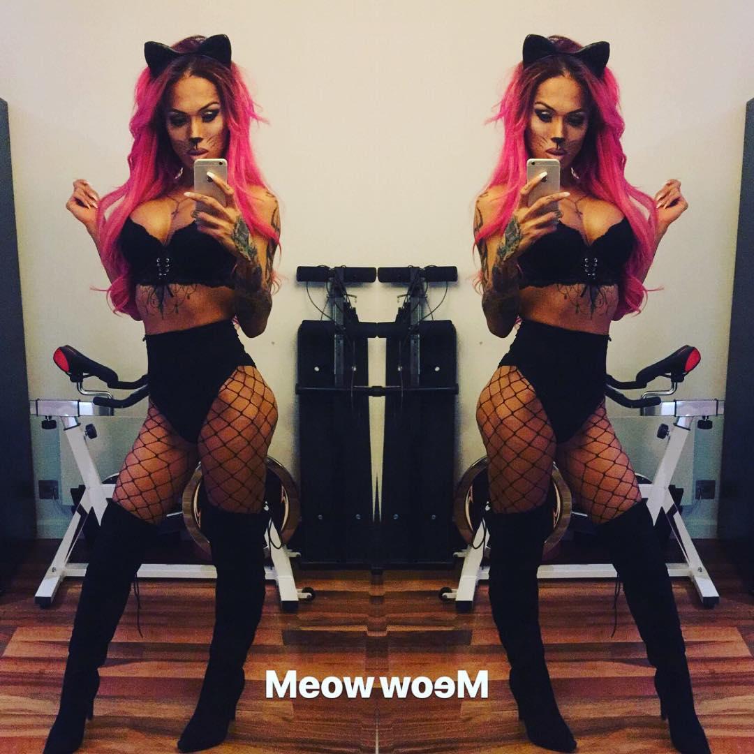 Mia Maffia pussycat costume