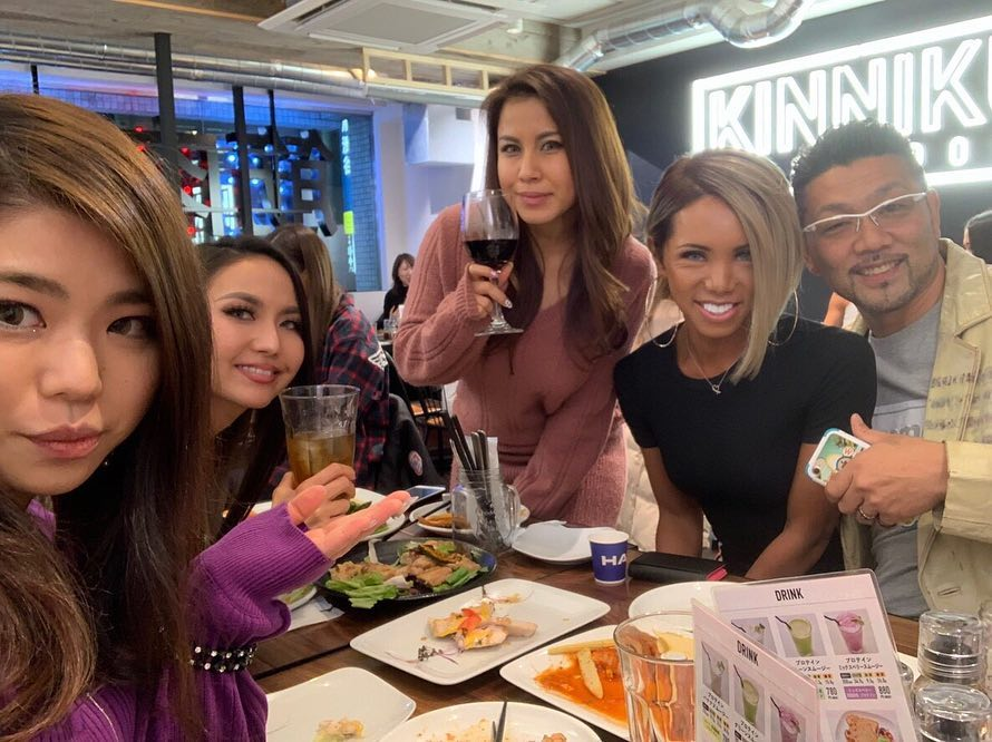 Japanese LB Miran dinner party