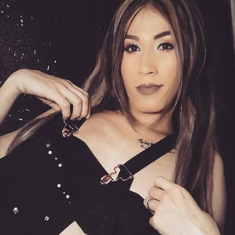 Colombian TS camgirl Allysson Rojos