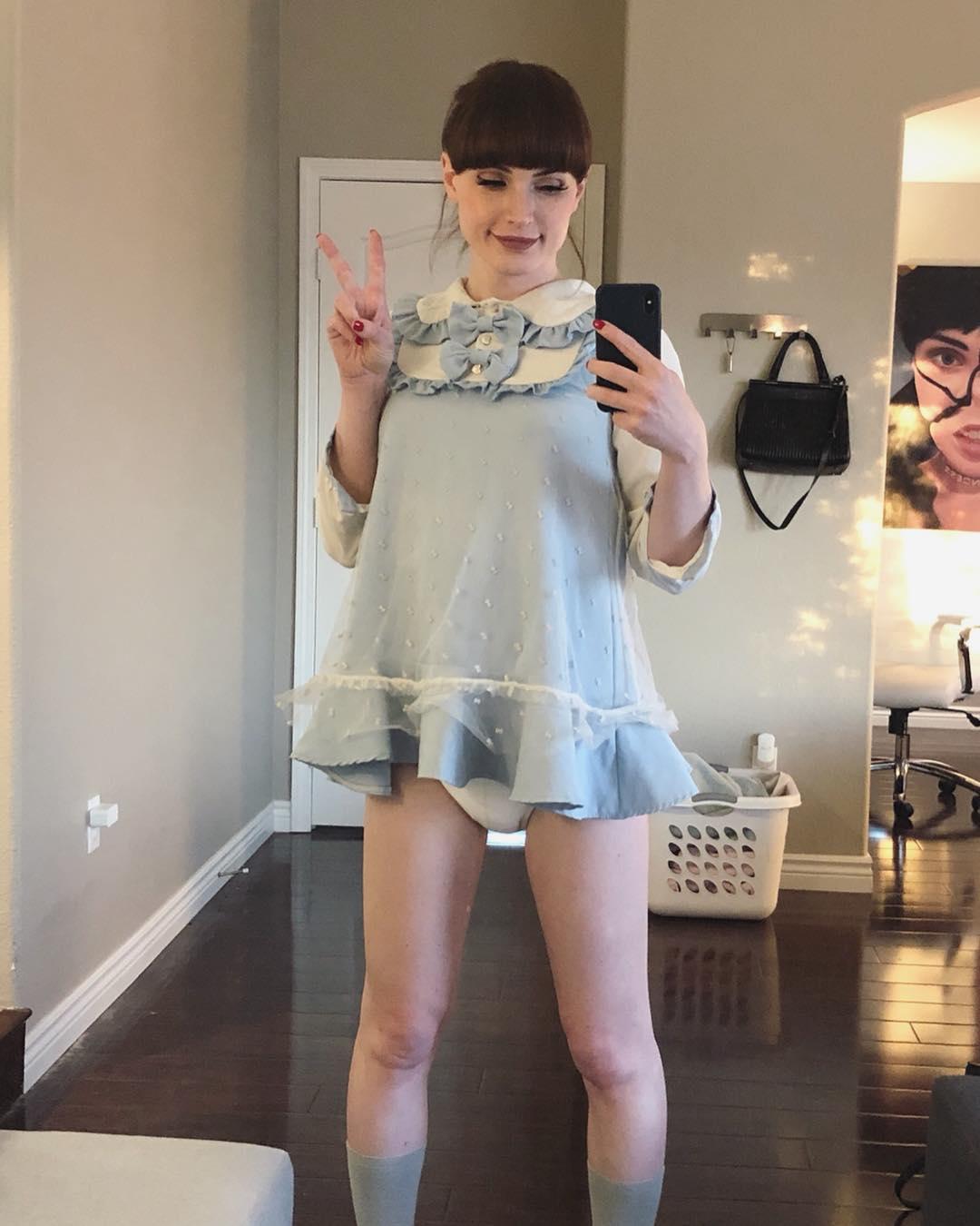 Cutie sissy baby Natalie Mars
