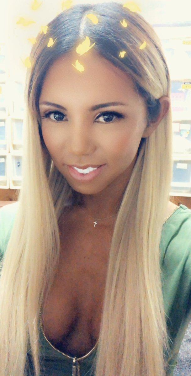 Ladyboy Miran cleavage selfie
