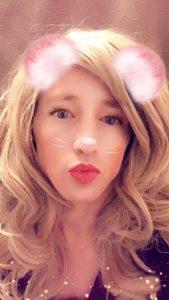 Silly TS Shylah Strong snapchat filter