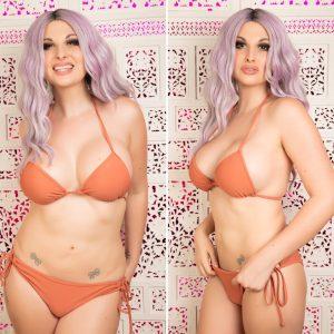 TS Bailey Jay bikini shots