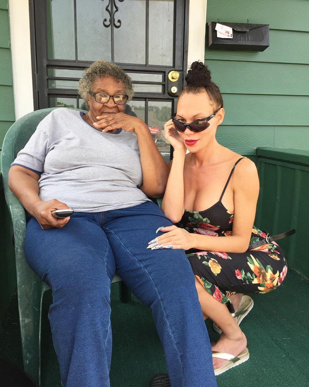 Mia Isabella porch sitting