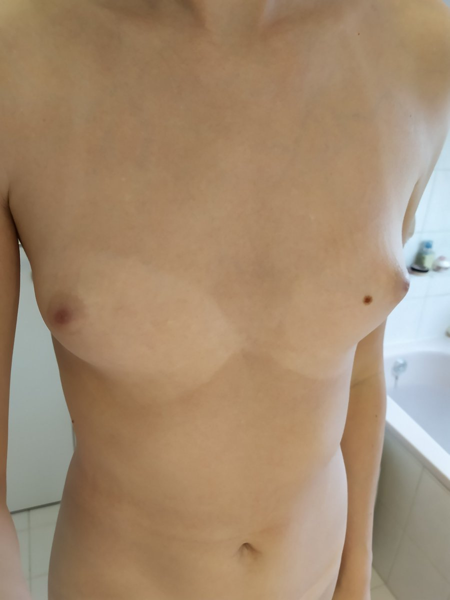 Teen ts titties in bath