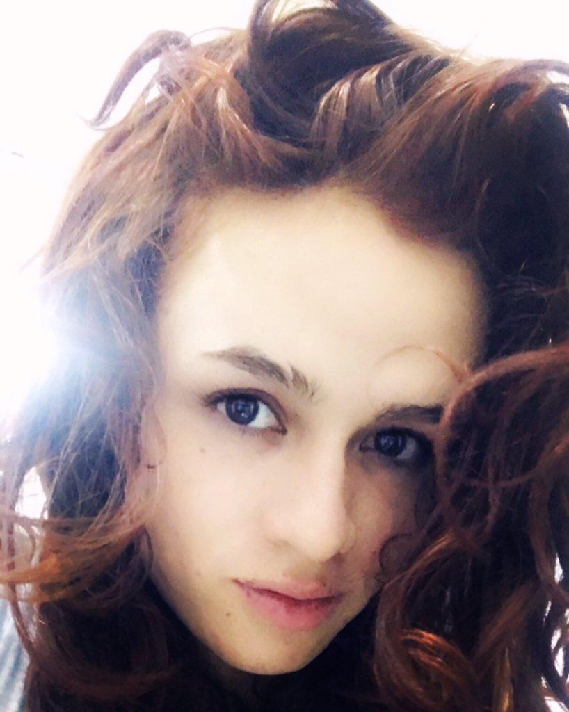 TS Nicole Sexxx face selfie