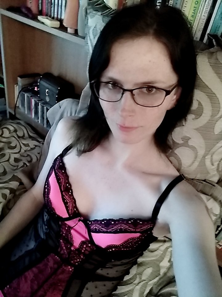 Glasses and lingerie