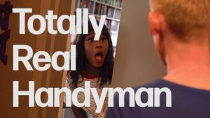 Interracial handyman sex