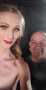 TS Laci Lamb ready for porn shoot