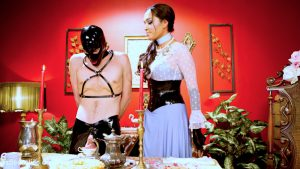Jessica Fox domme tea party