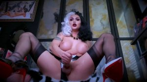 TS Cruella cosplay by Domino Presley