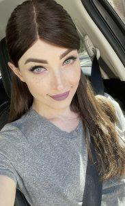 Car selfie with Natalie Mars
