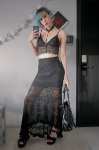 KatherynLin in sexy clubbing clothes